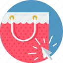 bag, click, online, sale, shop, shopping icon