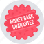 guarantee, label, money back, offre, tag, warranty icon