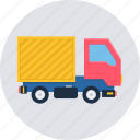 truck, van, cargo, delivery, logistic, lorry, shipping