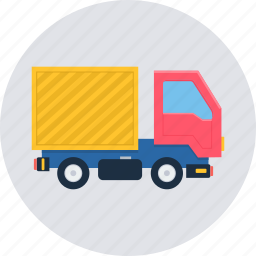 cargo, delivery, logistic, lorry, shipping, truck, van icon