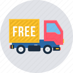 cargo, delivery, free, logistic, transport, transportation, truck icon