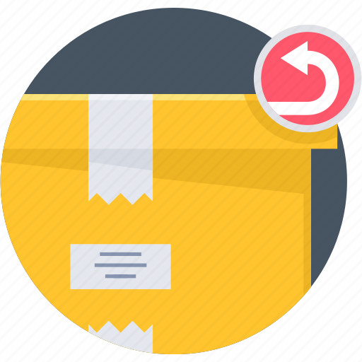 delivery, logistic, package, parcel, product, return icon