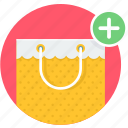 add, bag, buy, shop, shopping icon