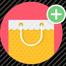 add, bag, buy, shop, shopping icon