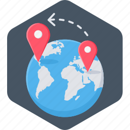 bank location, gps, location, map, navigation, shopping location icon