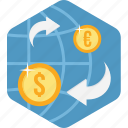 convert, ecommerce, money, online, transfer icon