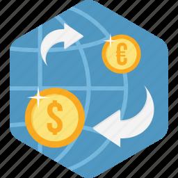 convert, ecommerce, money, online, transfer icon