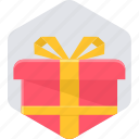 box, gift, package, parcel, present icon