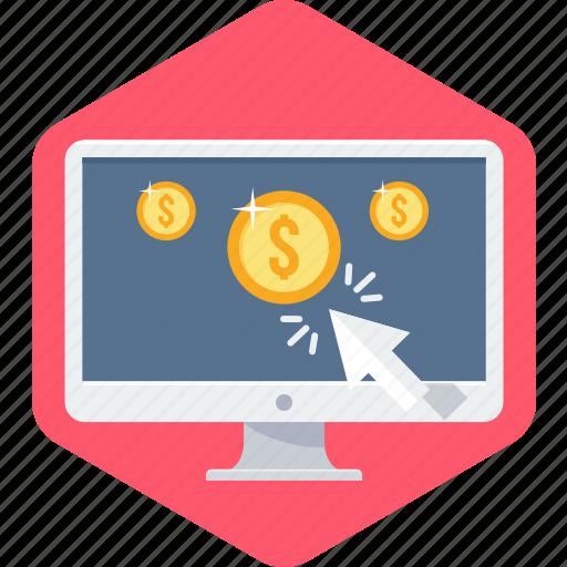marketing, ppc, seo, services, web icon