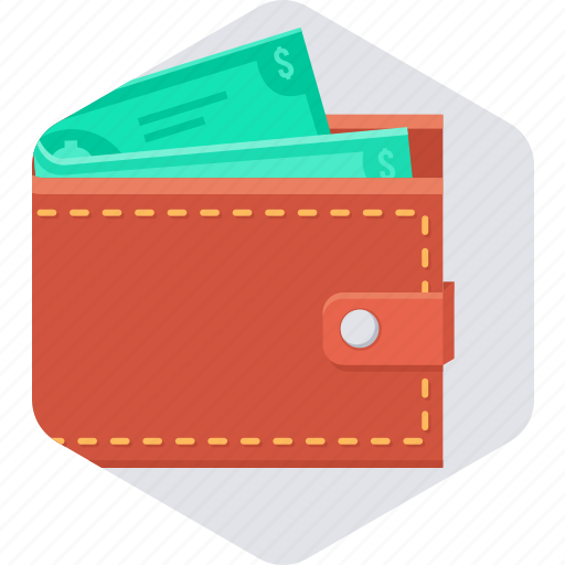 cash, finance, money, shop, shopping, wallet icon