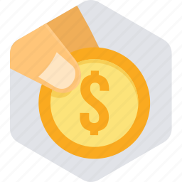 bank, business, cash, currency, dollar, finance, money icon