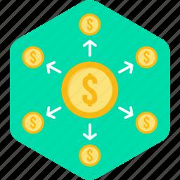 advance, bank, finance, money, payment, premium icon
