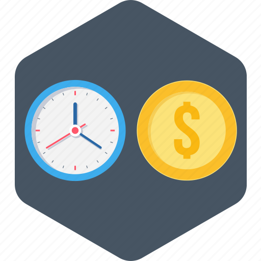 Money, time, time is money, business icon - Download on Iconfinder
