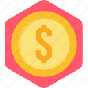banking, business, dollar, finance, financial, money, payment icon