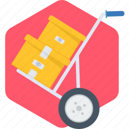 courier, delivery, sale, shipping, shop icon