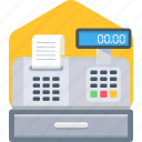 invoice, machine, print, printer, printing icon