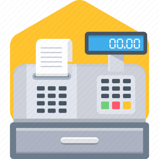 invoice, machine, print, printer, printing icon
