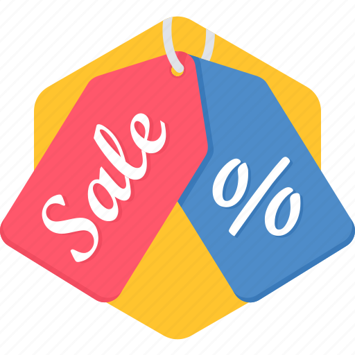 discount, label, percentage, price, sale, sign, tag icon