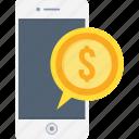 payment, phone, smartphone, cash, finance, mobile, money