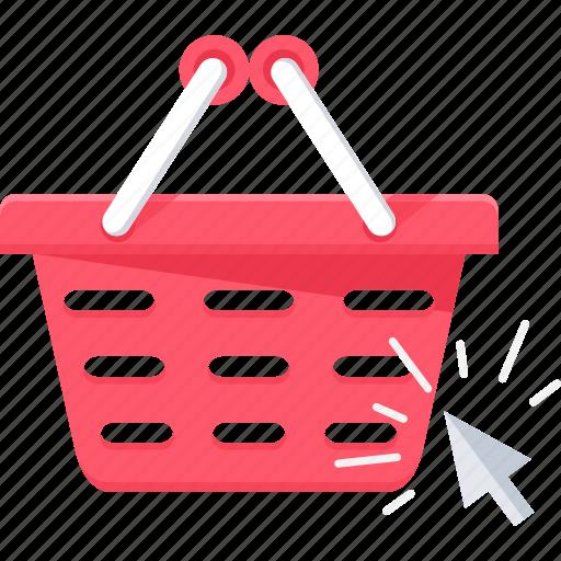 basket, buy, click, ecommerce, internet, online, web icon