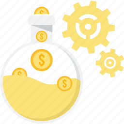 finance, guardar, lic, management, money, profit, save, savings icon