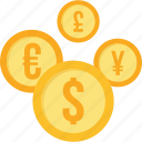 conversion, convert, currency, euro, money, online, payment icon