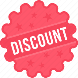 coupon, discount, label, offer, sign, sticker, tag icon