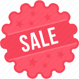discount, offer, sale, shopping, sign, sticker, tag icon