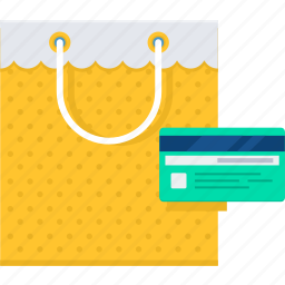 bag, card, credit, money, payment, shop, shopping icon