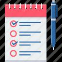 checklist, itemlist, item, items, notepad, list, shopping