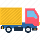 cargo, delivery, logistics, ship, shipment, shipping, truck icon