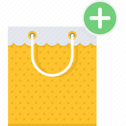 add, bag, buy, new, shop, shopping, store icon