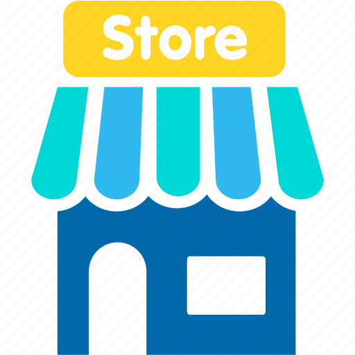 building, shop, shopping, store icon