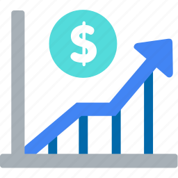analytics, graph, marketing, money, report, sales, statistics icon