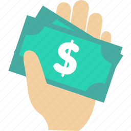 buy, hand, money, pay, payment, sale icon