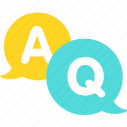 chat, faq, message, question, webboard icon