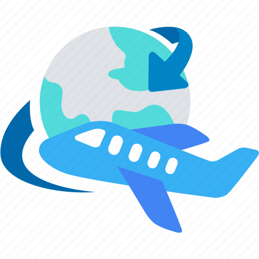 delivery, global, logistics, plane, shipping, worldwide icon