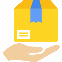 box, cargo, courier, delivery, packing, shipping icon