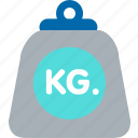 gym, kilogram, scale, shipping, weight