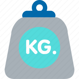 gym, kilogram, scale, shipping, weight icon
