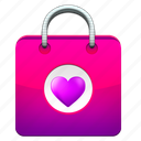 business, buy, cart, cash, ecommerce, love, marketing, payment, pocket, sale, shop, shopping, wear icon