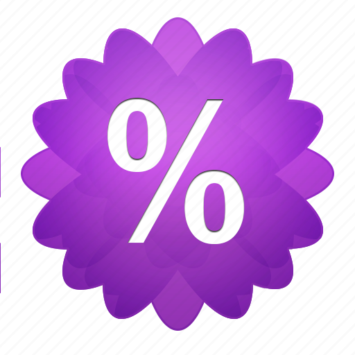 buy, cash, discount, ecommerce, finance, flower, payment, percent, price, sale, shop, shopping icon