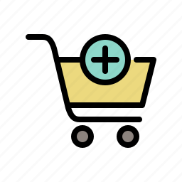 add product, buy, cart, shop, shopping, shopping cart icon