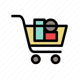 buy, cart, products, shop, shopping, shopping cart icon