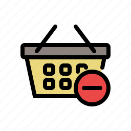 buy, cart, remove product, shop, shopping, shopping cart icon