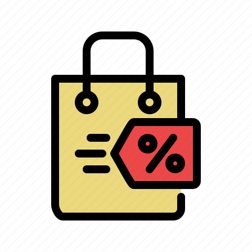 bag, buy, deal, discount, shopping, shopping bag icon