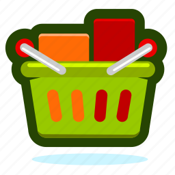 basket, box, buy, cart, ecommerce, product, sale, shop, shopping, store, webshop, with icon