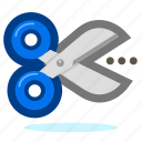 cut, cutter, equipment, repair, scissor, scissors, tool, tools icon