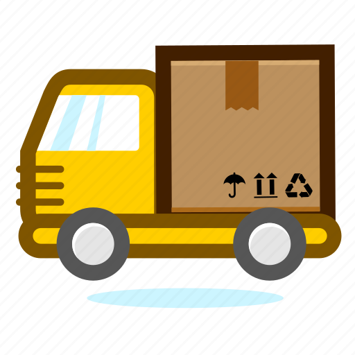 business, car, deliver, ecommerce, lorry, shipping, shopping, transport, truck, vehicle icon