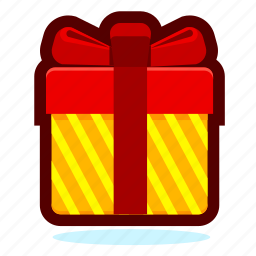 box, christmas, decoration, delivery, gift, holiday, package, present, product icon